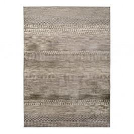 Sivý koberec z viskózy Universal Belga Beigriss, 70 x 220 cm
