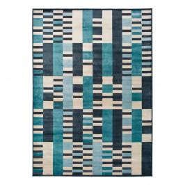 Modrý koberec Universal Farashe Stripes, 160 x 230 cm