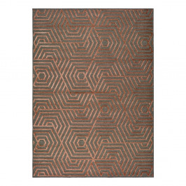 Červený koberec Universal Lana, 160 x 230 cm