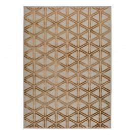 Sivo-oranžový koberec Universal Lana Triangle, 160 x 230 cm