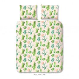 Bavlnené obliečky na jednolôžko Good Morning Plants, 140x200 cm