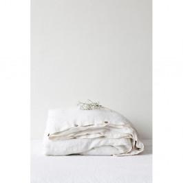 Biela ľanová obliečka na perinu Linen Tales, 140 x 220 cm