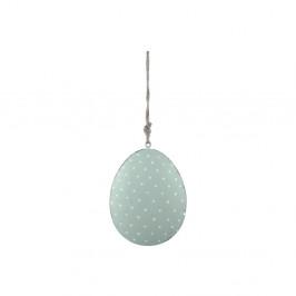 Zelená závesná ozdoba v tvare vajíčka Ego Dekor