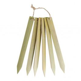Bambusové štítky pre označenie kvetín Esschert Design Garden