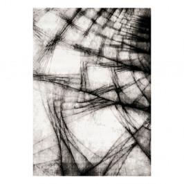 Sivo-čierny koberec Webtappeti Manhattan Broadway, 200 x 290 cm