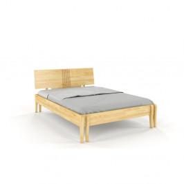 Dvojlôžková posteľ z borovicového dreva Skandica Visby Poznan, 180 x 200 cm