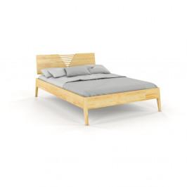 Dvojlôžková posteľ z borovicového dreva Skandica Visby Wolomin, 180 x 200 cm