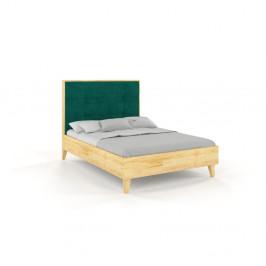 Dvojlôžková posteľ z borovicového dreva Skandica Frida, 160 x 200 cm