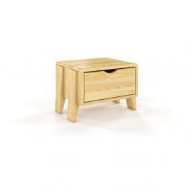 Nočný stolík z borovicového dreva so zásuvkou Skandica Visby Sopot