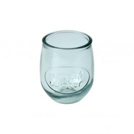 Číry pohár z recyklovaného skla Esschert Design Water, 0,4 l