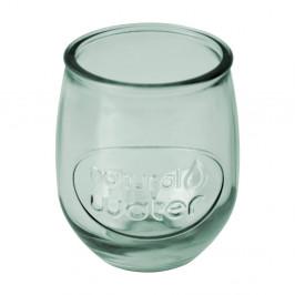 Svetlozelený pohár Esschert Design Water, 0,4 l