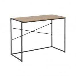 Písací stôl s doskou v dekore divokého duba Acton Seaford