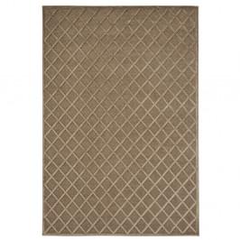 Hnedý koberec Mint Rugs Shine Karro, 80 × 125 cm
