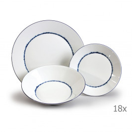 Sada 18 porcelánových tanierov Thun Tom