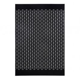Čierny koberec Hanse Home Twist, 140×200cm