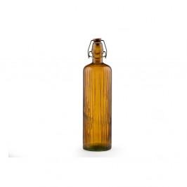 Žltá fľaša na vodu Bitz Basics Amber, 1,2 l