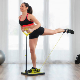 Fitness plošina na posilňovanie zadku a nôh s návodom na cvičenie InnovaGoods