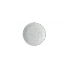 Biely keramický tanier Mij Star, ø 13 cm