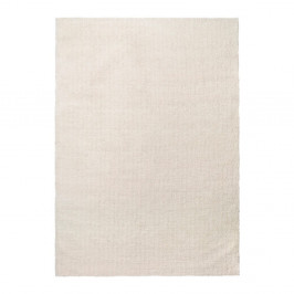 Biely koberec Universal Shanghai Liso Blanco, 80 × 150 cm