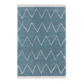 Modrý koberec Mint Rugs Rotonno, 120 x 170 cm