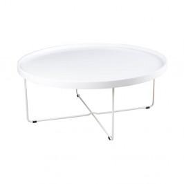 Biely konferenčný stolík sømcasa Bruno