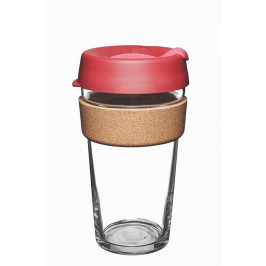 Cestovný hrnček s viečkom KeepCup Brew Cork Edition Thermal, 454 ml