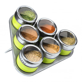 Set 6 magnetických koreničiek so stojanom Premier Housewares