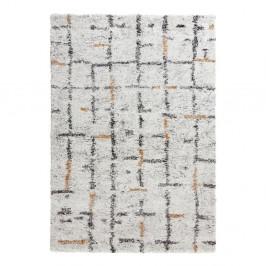 Krémovobiely koberec Mint Rugs Grid, 120 x 170 cm