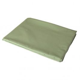 Zelená elastická plachta na jednolôžko Bella Maison Basic, 100 x 200 cm