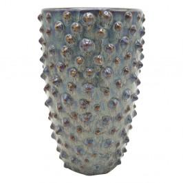 Sivá keramická váza PT LIVING Spotted, výška25cm
