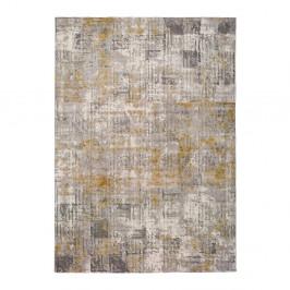 Sivý koberec Universal Kerati Mustard, 160 x 230 cm