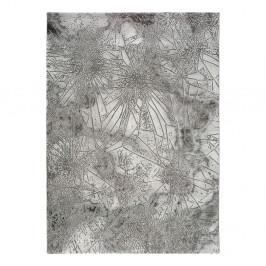 Sivý koberec Universal Norah Abstract, 140 x 200 cm