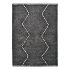 Čierny koberec Universal Kasbah Sharp, 80 x 150 cm