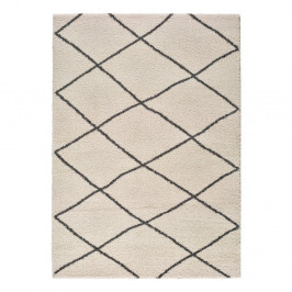 Biely koberec Universal Atlas Geo, 60 x 120 cm