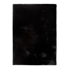 Čierny koberec Universal Fox Liso, 80 x 150 cm