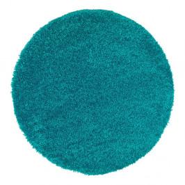 Modrý koberec Universal Aqua Liso, ø 80 cm