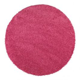 Ružový koberec Universal Aqua Liso, ø 80 cm