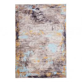Koberec odolný voči škvrnám Floorita Painting Grey, 80×150 cm