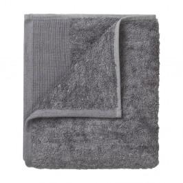 Sada 4 tmavosivých bavlnených uterákov Blomus, 30 x 30 cm