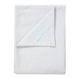 Sada 2 bielych bavlnených utierok na riad Blomus Pattern, 50 x 70 cm