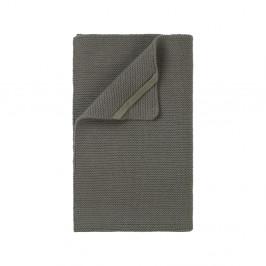 Khaki zelená pletená utierka Blomus Wipe, 55×32 cm