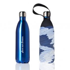 Cestovná termofľaša s obalom BBBYO Blue Sets, 1 l