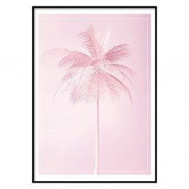 Nástenný plagát v ráme PARADISE/POSTCARD, 50 x 70 cm