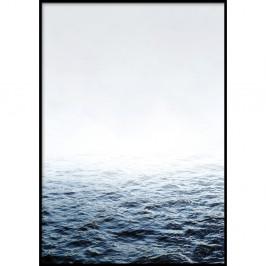 Nástenný plagát v ráme QUIET/PLACE, 50 x 70 cm