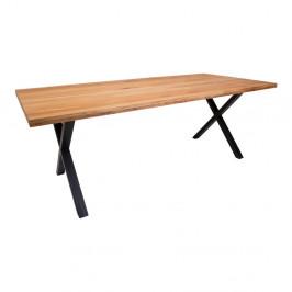 Jedálenský stôl z dubového dreva House Nordic Montpellier Oiled Oak, 200 × 95 cm