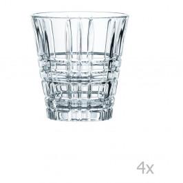 Sada 4 pohárov z krištáľového skla Nachtmann Square Tumbler, 260 ml