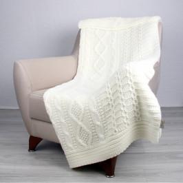 Svetlobéžová deka Totu, 170×130cm
