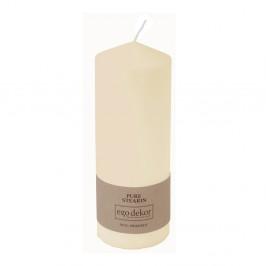 Smotanovobiela sviečka Eco candles by Ego dekor Top, doba horenia 50 h