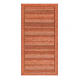 Oranžový behúň Floorita Velour, 55 x 280 cm