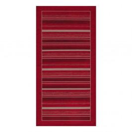 Červený behúň Floorita Velour, 55 x 115 cm